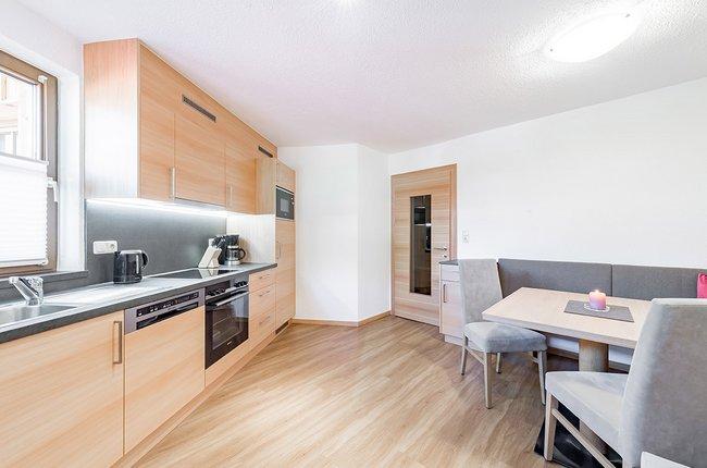 Appartement Top 2, Küche
