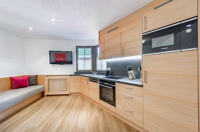 Appartement Top 3, Küche